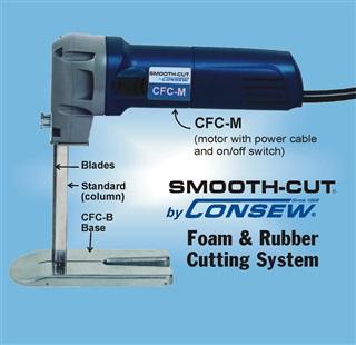 CFC Smoothcut Foam & Rubber Cutting System