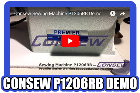 Consew P1206RB Demo