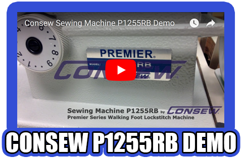 Consew P1255RB Demo