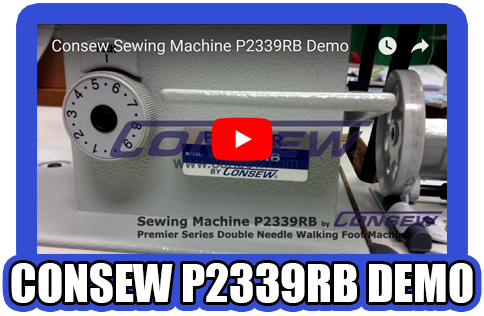 Consew P2339RB Demo